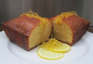 Lemon Cake with Candied Julienne