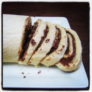 Italian Roll with Nutella