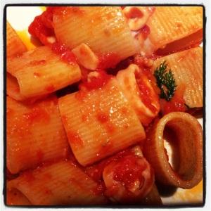 Pasta with Squid