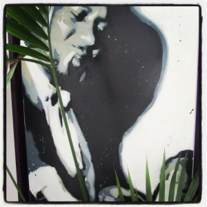 Thelonious Monk Panting by Marco Stefanucci