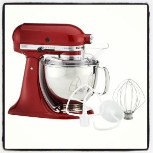 KitchenAid Red Bright