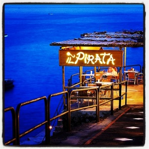 Il Pirata Restaurant  (phote taken from their website - forgot to take a picture!)